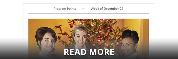 Program Points Newsletter Example