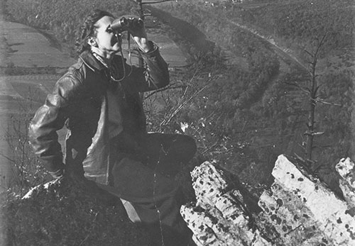 Rachel Carson at Hawk Mountain
