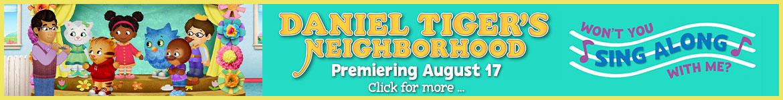 Daniel Tiger's Neighborhood: Won't You Sing Along With Me