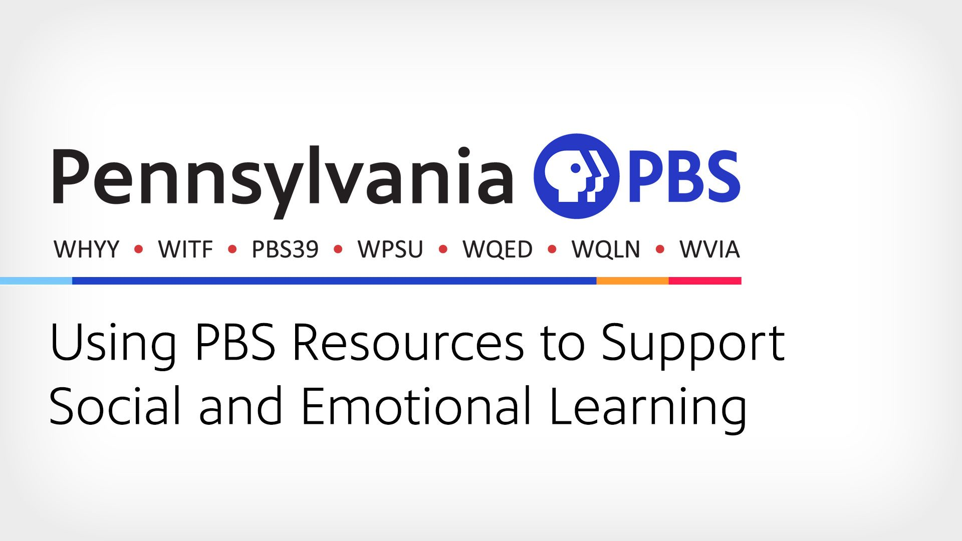 Using PBS Resources to Support Social and Emotional Learning