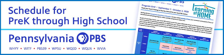 Schedule for  PreK through High School