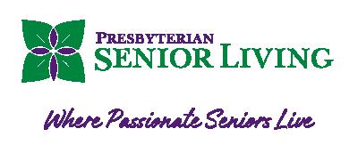 Presbyterian Senior Living logo with tagline