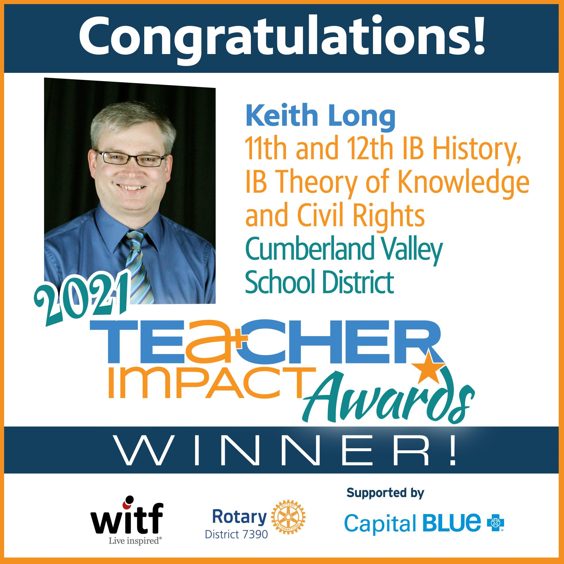 TIA 2021 Winner Keith Long